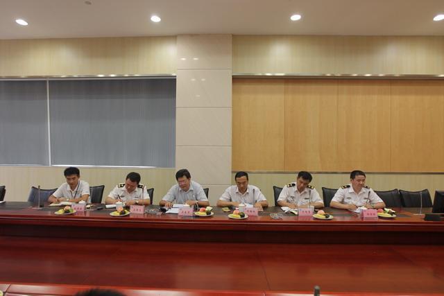 长江引航中心程学仨副主任率队赴江苏海事局指挥中心开展工作交流
